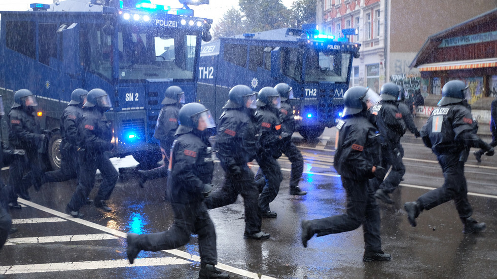 Polizeieinsatz in Connewitz