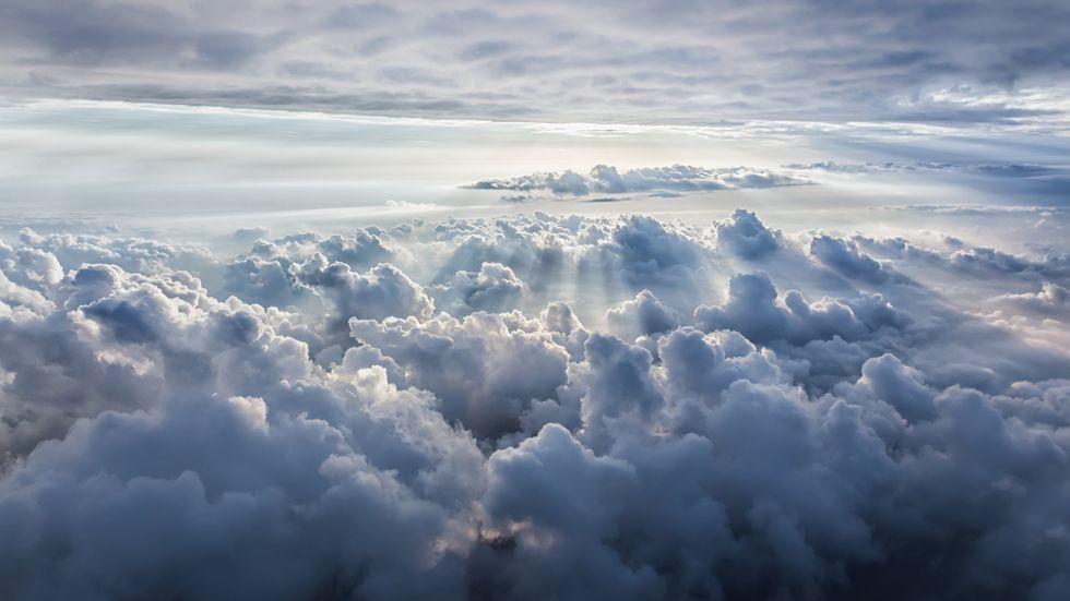 Himmel, Wolken