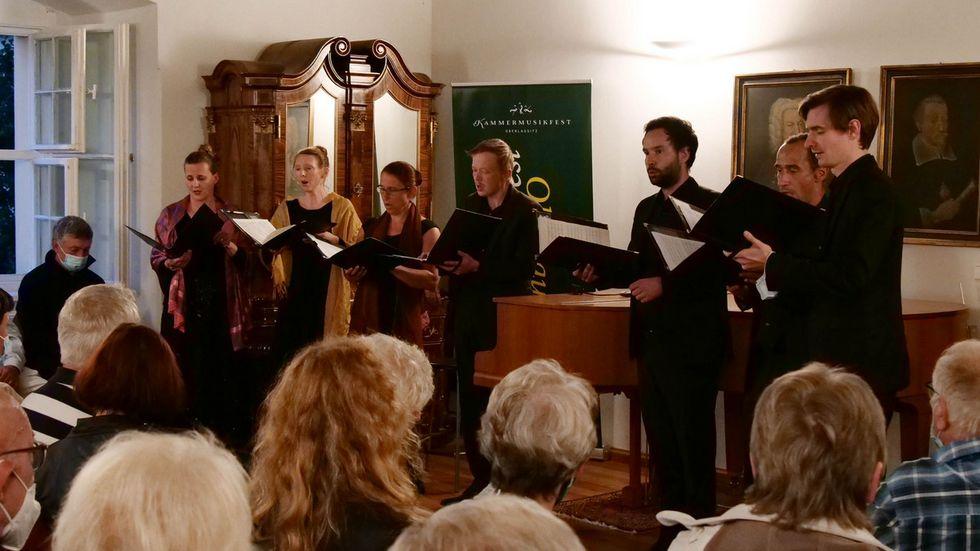 "Ensemble ""variatio"" im Schloss Kuppritz"
