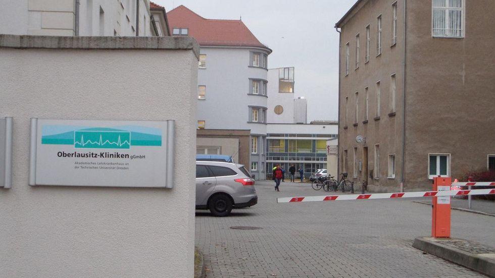 Krankenhaus Bautzen. Foto: kmk