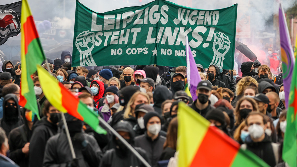 """Linx""-Demo in Leipzig"