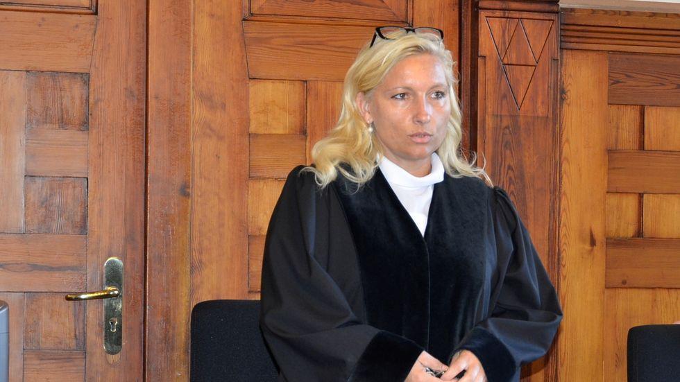 """Richterin Jana Ritschel: """"Schluss jetzt. Alles raus!"""". Foto: kmk"""