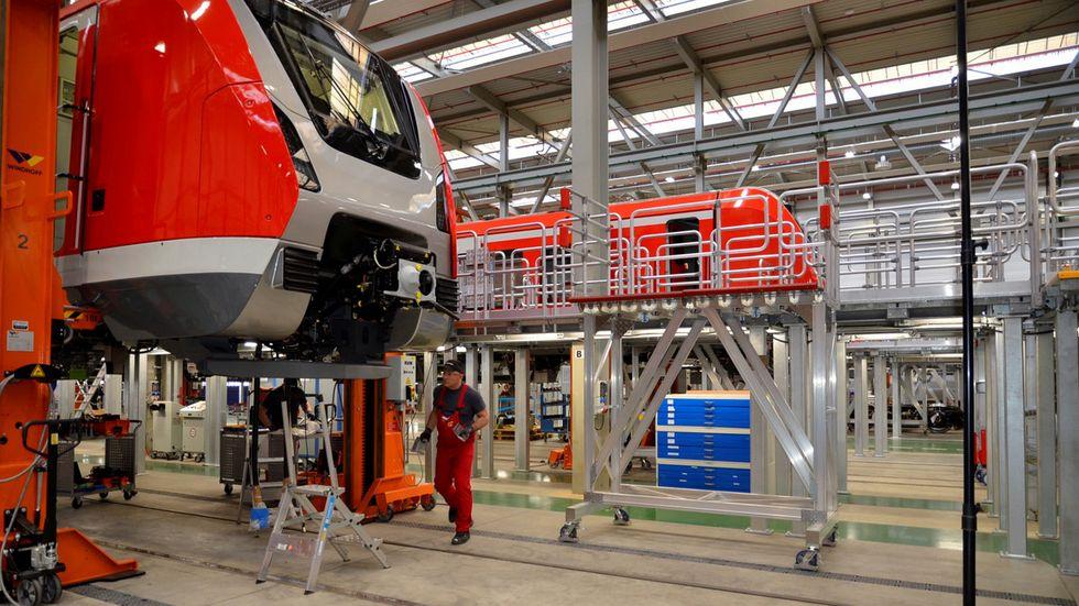 Bombardier-Halle in Bautzen. Foto: kmk