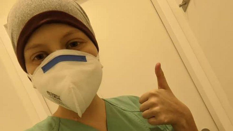 Die 16-jährige Lena aus Markneukirchen kämpft gegen den Blutkrebs.