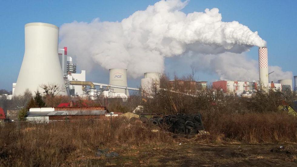 Braunkohlekraftwerk Turow an der Neiße bei Zittau. Foto: kmk