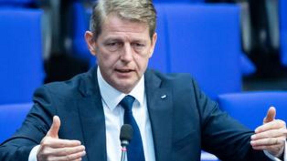Bundestagsabgeordneter Karsten Hilse, AfD. Foto dpa/Bernd von Jutrczenka