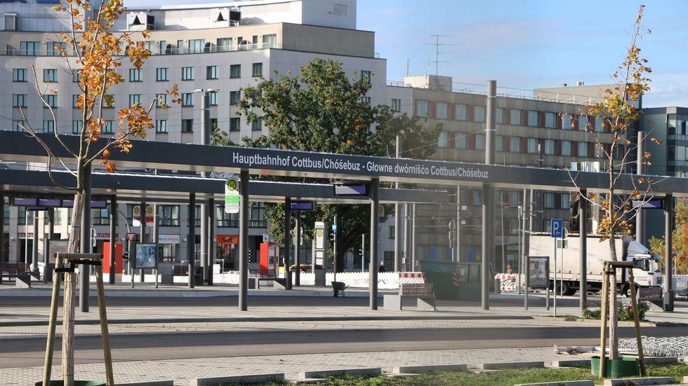 """Die Schienenlobby """"Allianz pro Schiene"""" hat den Cottbuser Hauptbahnhof zum """"Bahnhof des Jahres"""" gekürt."""