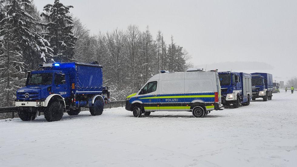 Einsatzkräfte des THW Bautzen und Kamenz sind im Einsatz